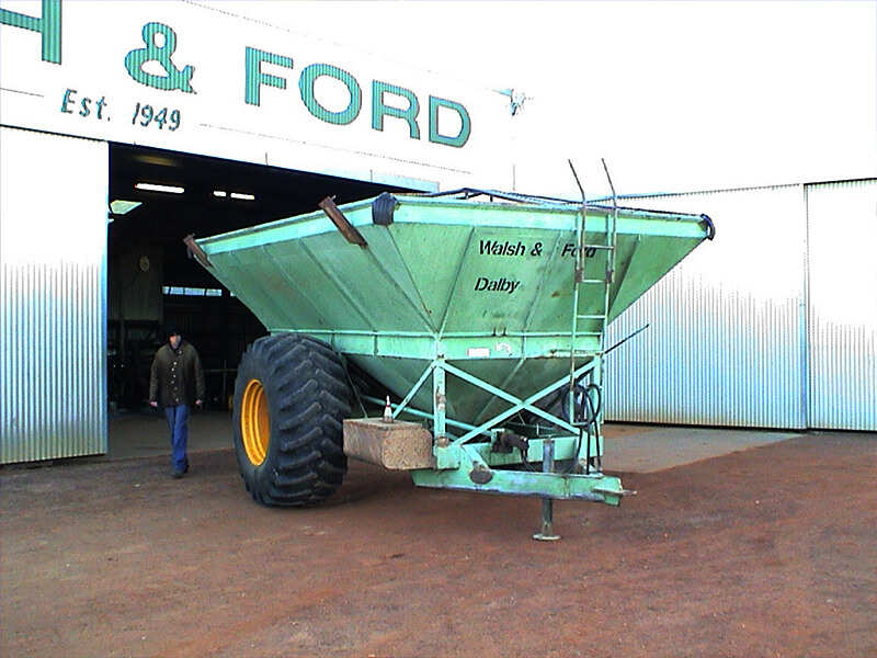 Grain Buggy Before