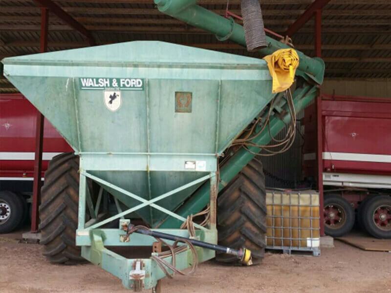 15 to 16 tonne grain cart conversion before photo