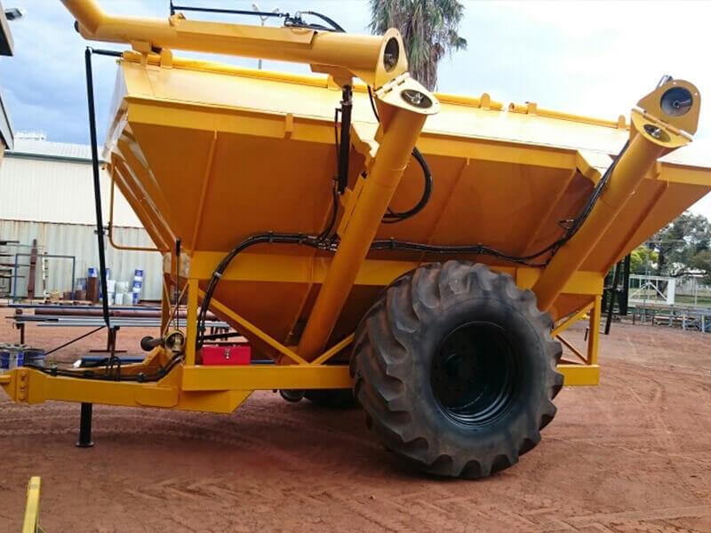 15 to 16 tonne grain cart conversion after photo