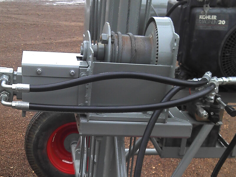 47x9 Auger Rebuild with power winch 002