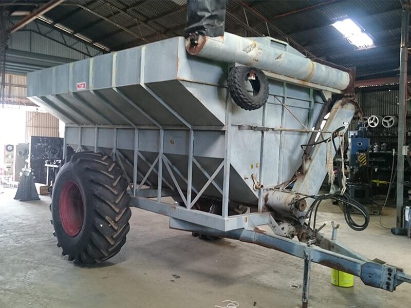 Miitze Grain Cart Rebuild - Before