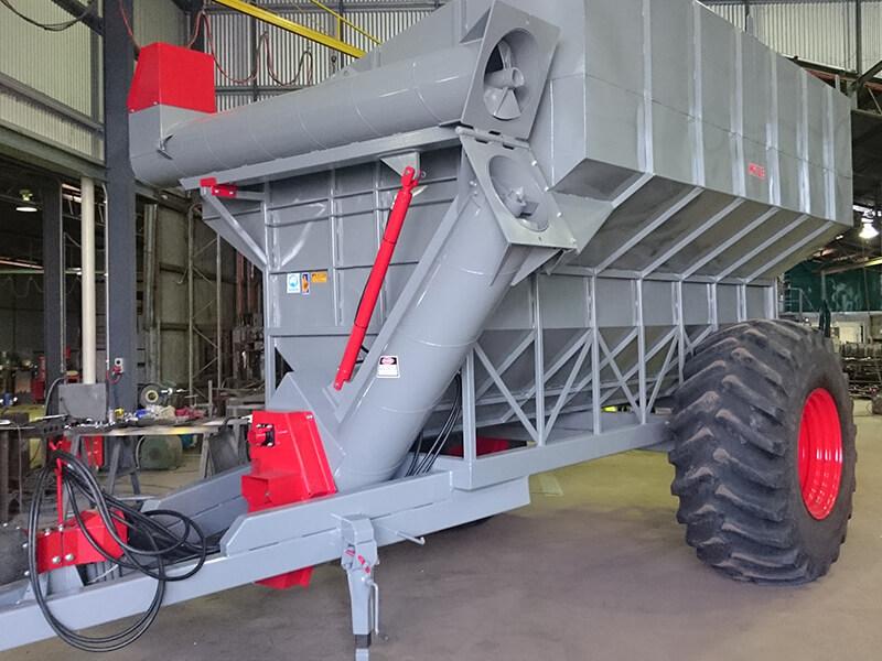 Miitze Grain Cart Rebuild - after