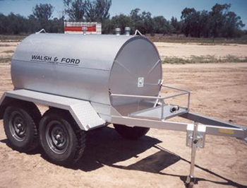 Walsh and Ford Mobile Fuel Tank