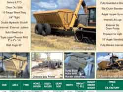 Grain Haulout Bins